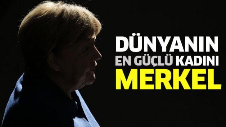 Merkel, 8. kez dünyanın en güçlü kadını seçildi!