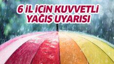 Meteoroloji'den kuvvetli yağış uyarısı! (5 Aralık 2018 hava durumu)