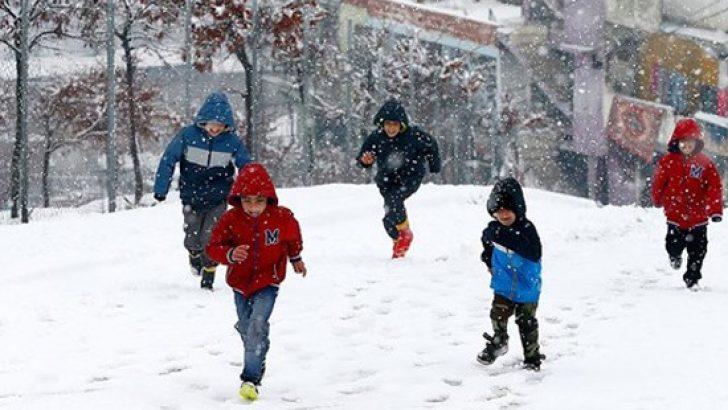 Sivas'ta okullara kar tatili