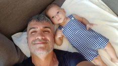 Özcan Deniz'in oğlu Kuzey ile 9. ay pozu!