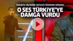Sokakta söylediği şarkıyla fenomen olmuştu! Mehmet Baştürk O Ses Türkiye'ye damga vurdu