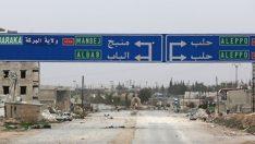 Suriye ordusu, YPG'den boşalan Münbiç'e bayrak diktiğini duyurdu
