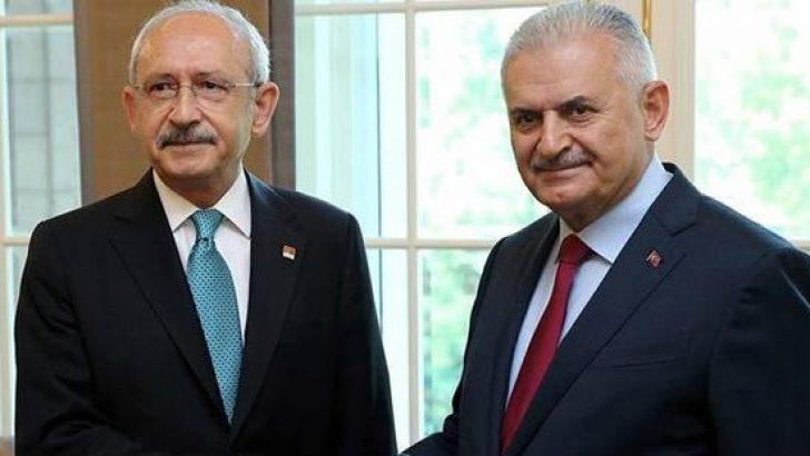 TBMM Başkanı Binali Yıldırım, Kılıçdaroğlu ile bir araya geldi
