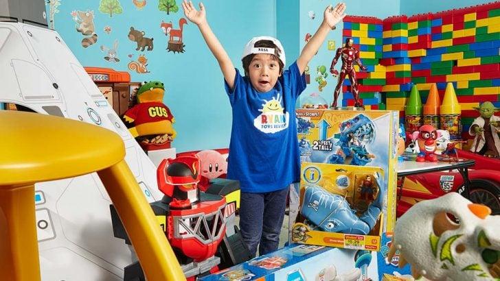 YouTube'un en çok kazananları belli oldu! Zirvenin sahibi 8 yaşındaki Ryan