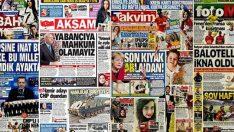 14 Ocak 2019 günün gazete manşetleri