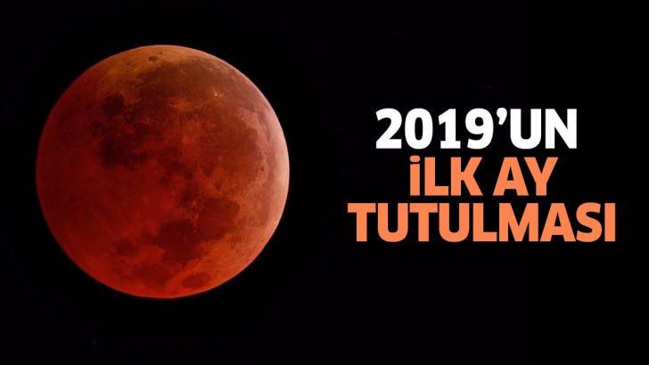 2019un Ilk Ay Tutulması Olan Süper Kanlı Kurt Ay Gerçekleşti Son Tv
