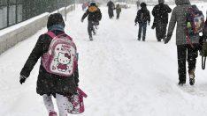 Çanakkale'de yarın okullara kar tatili