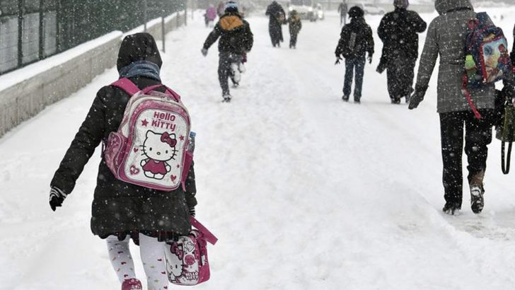 27 ilde okullara kar tatili! 16 Ocak Çarşamba hangi illerde okullar tatil edildi?