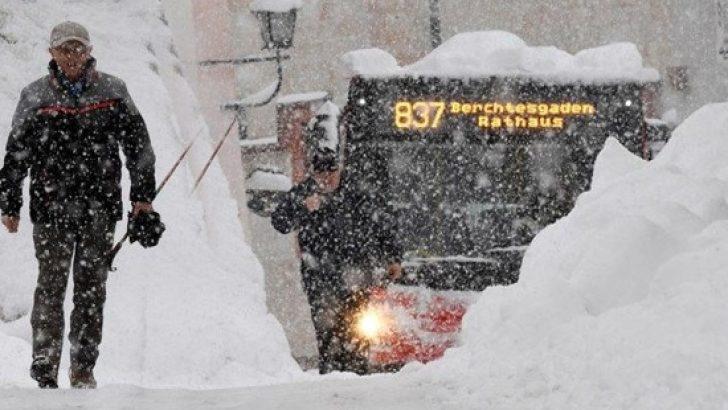 Avrupa son yılların en sert kışını yaşıyor!