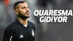 Beşiktaş'a Quaresma şoku! Yeni teklifi kabul etmeyen Quaresma ayrılıyor!
