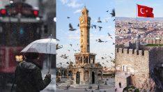 Bu hafta hava durumu nasıl olacak? İstanbul, Ankara ve İzmir için 5 günlük haritalı hava durumu