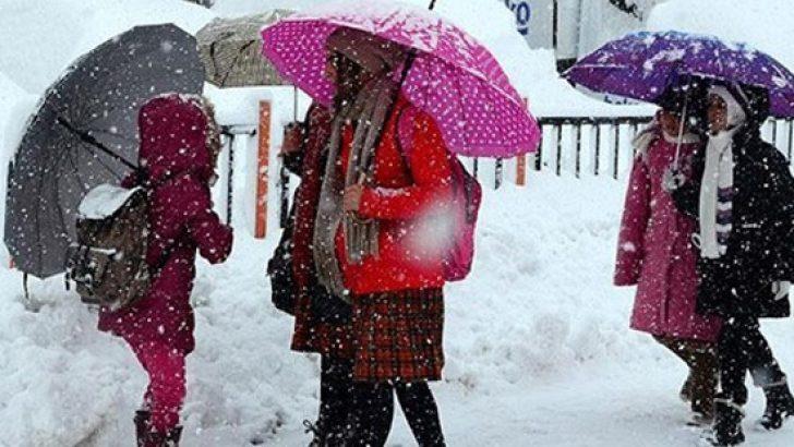 Bugün 24 ilde okullara kar tatili!