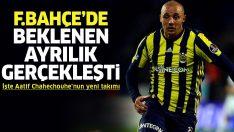 Fenerbahçe'de beklenen ayrılık gerçekleşti! İşte Aatif Chahechouhe'nun yeni takımı
