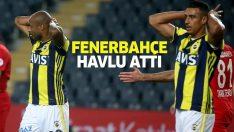 Fenerbahçe, Ziraat Türkiye Kupası'ndan elendi