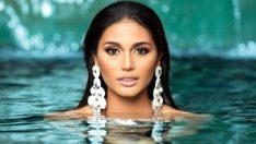 Kainat güzelinin estetiksiz hali sosyal medyayı salladı!