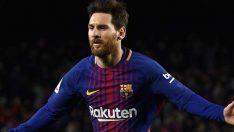 Lionel Messi La Liga'da 400. golünü attı