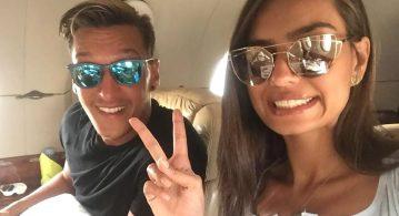 Mesut Özil ile Amine Gülşe evlilik için hazırlanıyor