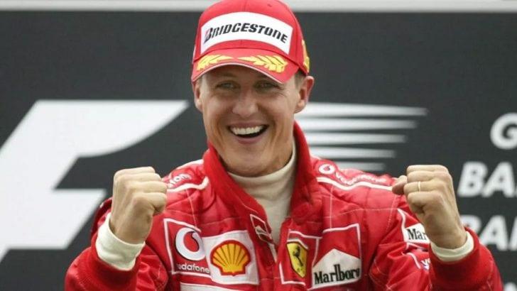 Michael Schumacher'e Ferrari'den vefa