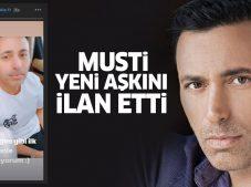 Mustafa Sandal yeni aşkını sosyal medyadan ilan etti!