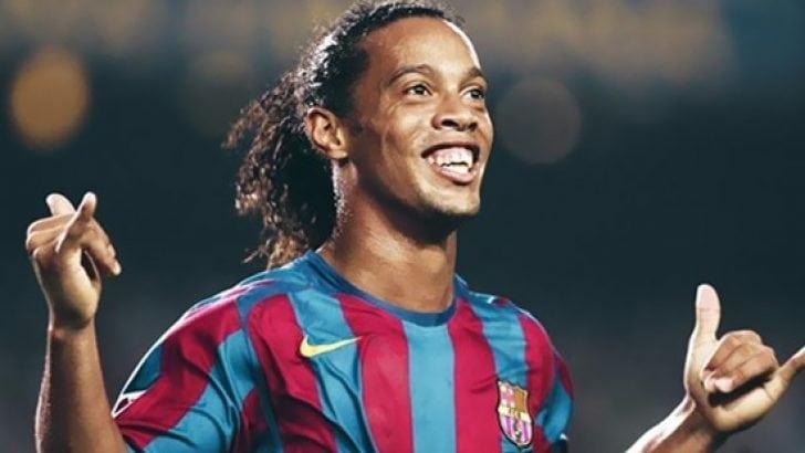 Para içinde yüzen Ronaldinho iflas etti!
