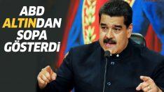 ABD: BAE Venezuela'dan altın alıyorsa yaptırım uygularız