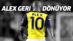 Alex de Souza Fenerbahçe'ye geri dönüyor! İşte yeni görevi