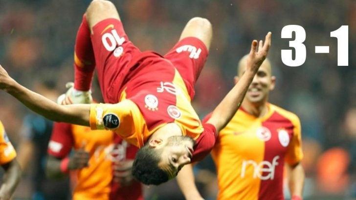 Aslan'ın zirve yürüyüşü! Galatasaray – Trabzonspor maç sonucu: 3-1