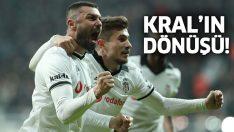 Burak Yılmaz, Beşiktaş'ı 3. sıraya taşıdı!