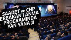 CHP, Necmettin Erbakan'ı anma programına katıldı!