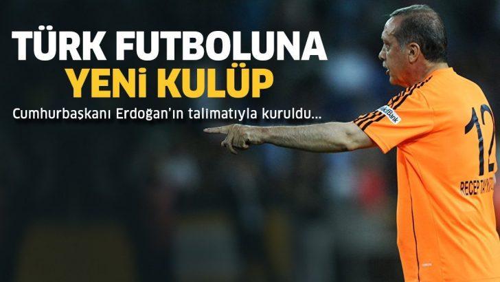 Cumhurbaşkanlığı Spor Kulübü resmen kuruldu! Hedef Süper Lig!