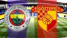 Fenerbahçe ile Göztepe maçının golleri ve tüm detayları!