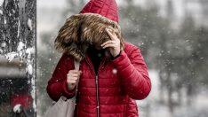 Meteoroloji'den hava durumu uyarısı! Yoğun kar yağışı geliyor… 5 günlük haritalı hava durumu