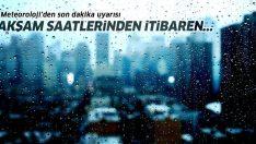 Meteoroloji'den İstanbul için son dakika uyarısı! İstanbul 5 günlük hava durumu