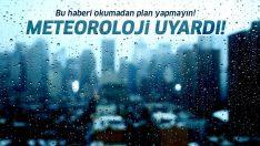 Meteoroloji'den fırtına ve sağanak yağış uyarısı! İstanbul 5 günlük hava durumu