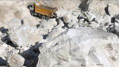 Milas'ta maden sahasında heyelan: 2 ölü