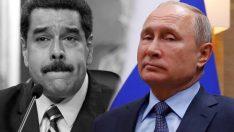 Rusya'dan Venezuela'ya darbe!