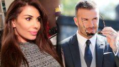 Şarkıcı Hatice'den David Beckham'a olay yaratacak kalça yorumu