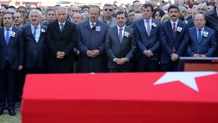 Bursa Cumhuriyet Başsavcı Vekili Nusret Esat Özel son yolculuğuna uğurlandı