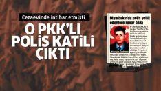 Cezaevinde intihar eden PKK'lı, polis katili çıktı!