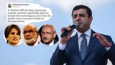 HDP'li Selahattin Demirtaş CHP-İP İttifakı için oy istedi