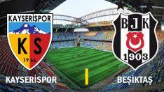 Kayserispor Beşiktaş maçı ne zaman, saat kaçta, hangi kanalda? İşte Beşiktaş'ın Kayserispor karşısındaki ilk 11'i