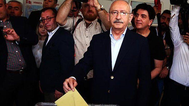 Kemal Kılıçdaroğlu, oyunu kullandı