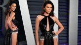 Kendall Jenner, cesur kıyafetiyle Oscar partisine damga vurdu!