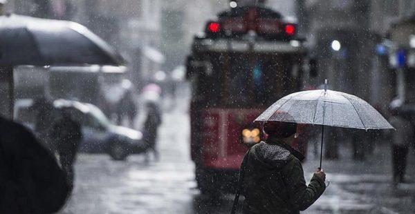 Meteoroloji'den sağanak ve şiddetli rüzgar uyarısı! İstanbul 5 günlük hava durumu