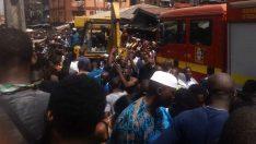 Nijerya'da okul binası çöktü! Onlarca çocuk, göçük altında kaldı!