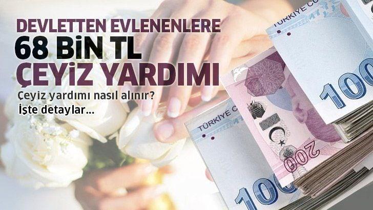 Yeni evlenecekler dikkat! Devlet 68 bin lira destek veriyor