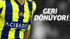 Yıldız isim Fenerbahçe'ye geri dönüyor!