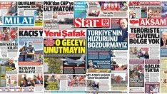 23 Nisan 2019 gazete manşetleri
