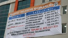 Borç afişi CHP'li başkanlar arasında kriz çıkardı!