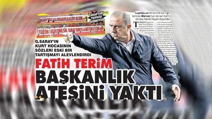 'Fatih Terim, Başkanlık ateşini yaktı!' (4 Nisan 2019 günün spor manşetleri)